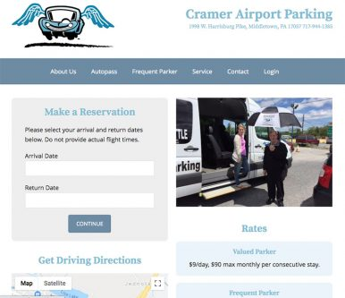 cramer airport parking
